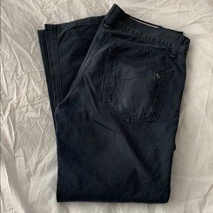 Rag & bone 15x Jean style blue pants button fly 31